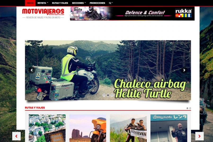 ROM, es Partner y Colaborador de la Revista Motoviajeros