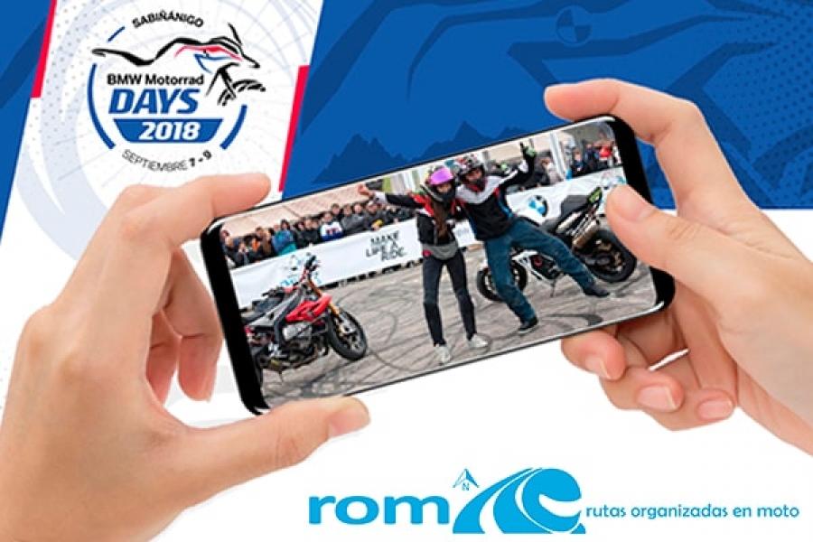 Stand ROM en el BMW Motorrad Days