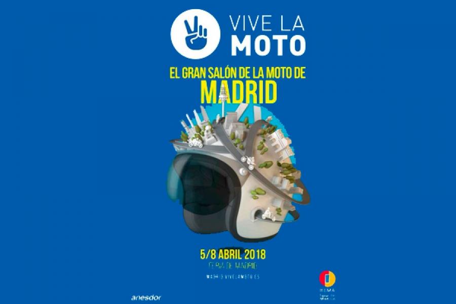 Nos vamos al Vive la Moto, el gran salón de la moto de Madrid