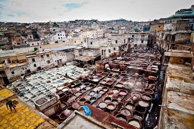 Curtiderias en Fez